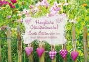 Herzliche Glückwünsche! - Faltkarte