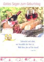 Faltkartenserie Geburtstag, 8 Stück