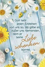 Faltkarte: Gott liebt jeden Einzelnen - Neutral