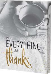 "Grace & Hope ""Give thanks"" - Wand- und Standbild"