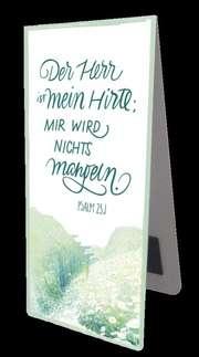 """Magnetlesezeichen - """"Der Herr ist mein Hirte"""""""
