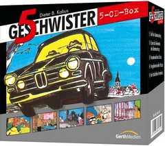 CD-Box 1: 5 Geschwister (5 CDs)