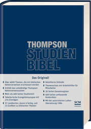 Thompson Studienbibel - ital. Kunstleder, blau