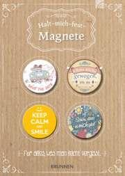 Magnet-Set 4er - Halt mich fest - Motiv: Save the date,...