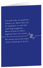 "Faltkarte ""Ich bin da"" - 5er Serie"
