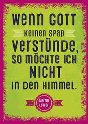Postkarten: Wenn Gott keinen Spaß verstünde, 4 Stück