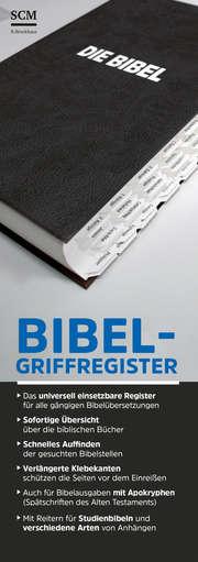 Bibel-Griffregister schwarz