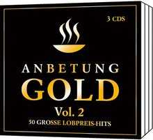 3-CD-Box: Anbetung Gold Vol.2